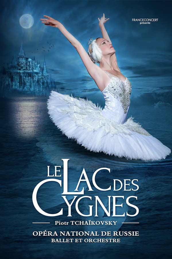 Le Lac des Cygnes au Summum à Grenoble