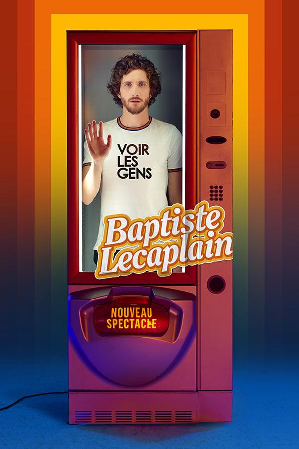 Baptiste Lecaplain au Summum à Grenoble